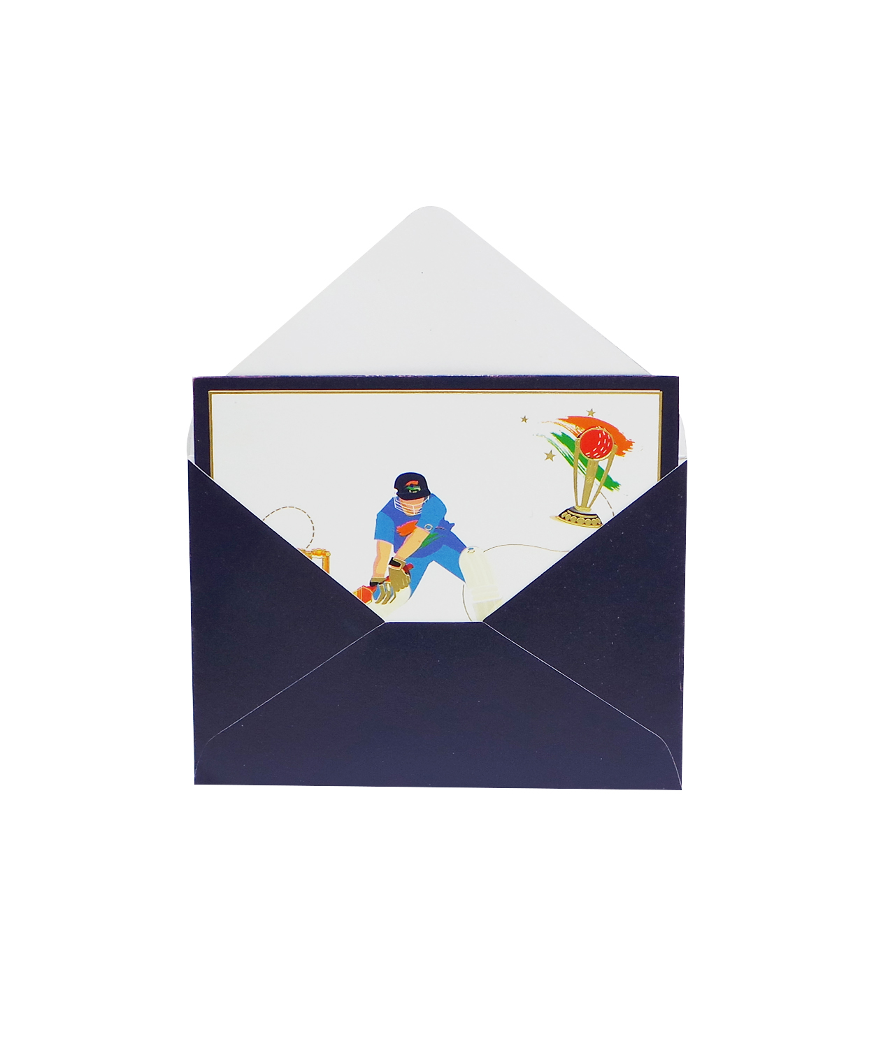 cricket new thank you card with envelope  buy cricket new